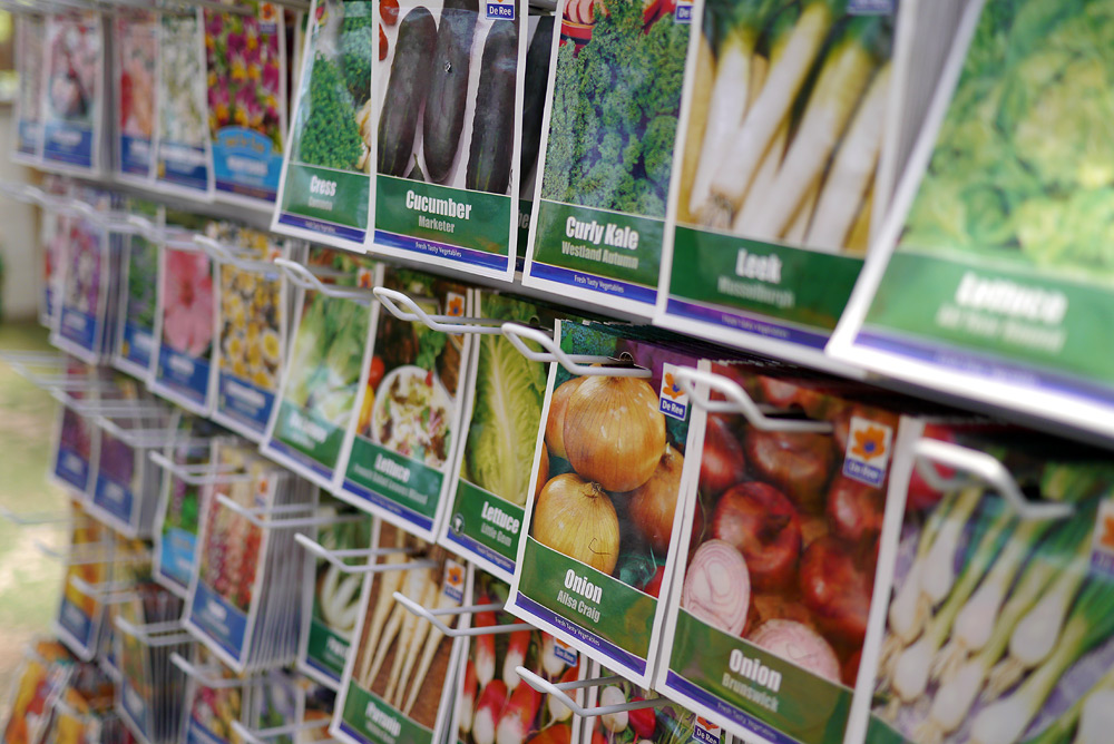 Fruit and veg seeds